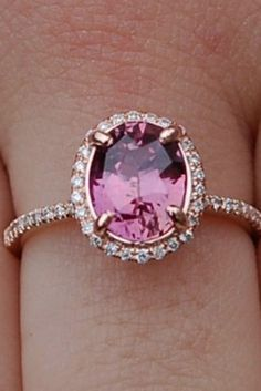 Gorgeous Colored Engagement Rings ★ See more: http://ohsoperfectproposal.com/colored-engagement-rings/ #engagementring #proposal