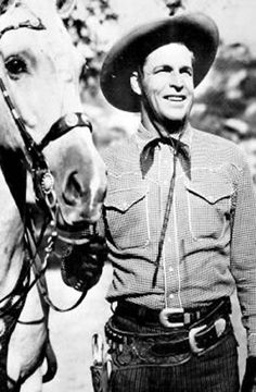 Buster Crabbe in ARIZONA RAIDERS 1965 - Apacheland Motion Pictures