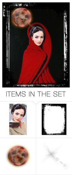 """blood moon"" by sum1smuse ❤ liked on Polyvore featuring art and face41contest"