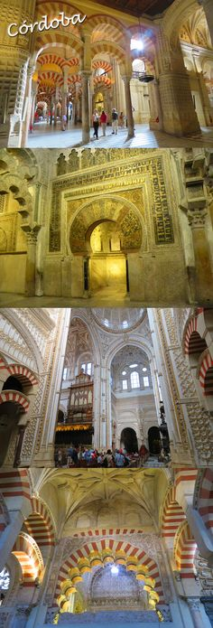 Cordoba's Mezquita, one of the most incredible sights anywhere: http://bbqboy.net/cordoba-spain-incredible-mezquita/  #cordoba #spain