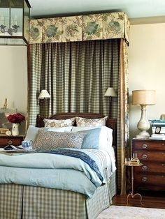 Sconces through the bed drape idea.  No need to use hard-wired fixtures since cords an be hidden by  the fabric.