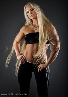 8 time World Arm wrestling Champion Sarah Bäckman...I wonder if this had anything to do with the WWE signing her?