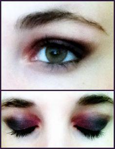different version of a smokey eye.
