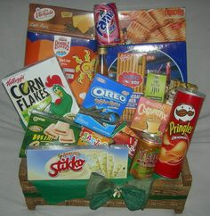 Snack and Soft Drinks... #hampers #parcel