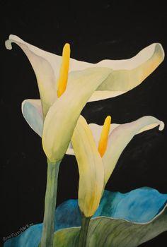 Rosa Mark Calas Watercolor And Gouache