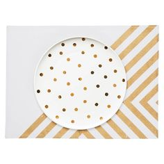 Paynter Dinner Plate  Gold Spot