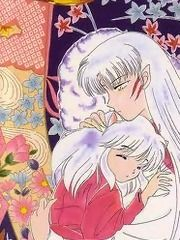 Big Brother Sesshomaru and Sleepy Chibi Inuyasha