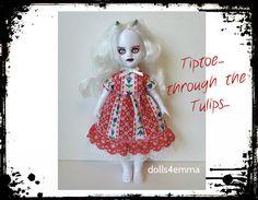Levende dode Doll kleding - Sweet Baby-doll Dress - handgemaakte Custom Fashion door dolls4emma