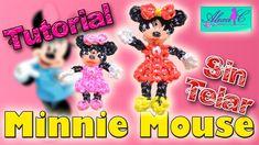 ♥ Tutorial: Minnie Mouse de gomitas (sin telar) ♥