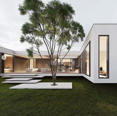 Dope or nope? The House is a 230 sqm. modern home proposed to be built this year. Being placed on stilts, the main… Design Exterior, Modern Exterior, Contemporary Architecture, Interior Architecture, Modern Home Design, Modern Art, Modern Architects, Dream House Exterior, House Design