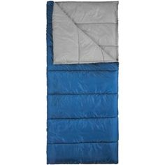 Ozark Trail 50F Warm and Cold Weather Sleeping Bag BlueGrey * Visit the image link for more details. #SleepingBagsandCampBedding
