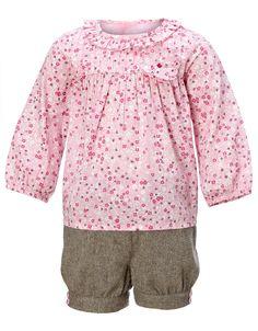 Baby Camilla Top and Short Set | Pink | Monsoon