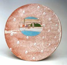 "Pattie Chalmers, ""Motel Poolside Plate with Sugar Cubes"" Contemporary Artwork, Contemporary Artists, Ceramic Plates, Decorative Plates, Sugar Cubes, Pottery, Sculpture, Ceramics, Motel"
