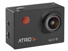 """Câmera Digital Átrio FullSport Câm. 16MP - Visor 2"""" Wi-Fi Lente de 140º + Kit de Acessórios"""