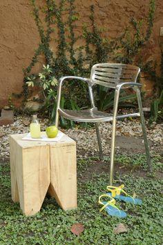 Una de las sillas de Unimate: modelos Toledo.   www.unimate.com.ar