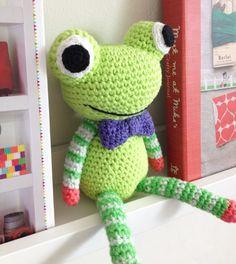 Hæklet frø Crochet Frog