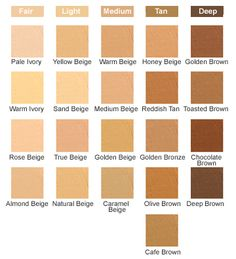 Choose a Color: Lightweight creme formula with high purity pigments and natural skin tones. DermaBlend Cover Creme provides a perfect Skin Color Chart, Skin Color Palette, Skin Undertones, Colors For Skin Tone, Art Tips, Color Theory, Writing Inspiration, Color Schemes, Bronze