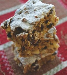 Apple Almond Squares - Clean Eating - Clean Eating