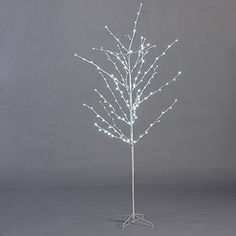 White LED Lighted Tree