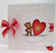 Ladybug Crafts Ink: Red & White - Midway Reminder