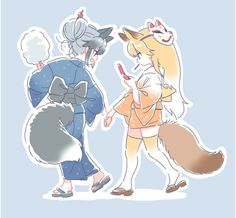 Kemono friends fox