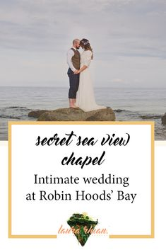 The Cove Secret Seaview Wedding - Seth and Lydia planned an intimate, super cool wedding day with their nearest and dearest at Robin Hoods Bay. Seaside Wedding, Wedding Day, Robin Hoods Bay, Creative Wedding Photography, Weddings, Wedding Dresses, Beach, Pi Day Wedding, Bride Dresses