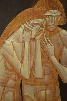 creation of adam byzantine iconography Byzantine Icons, Byzantine Art, Religious Images, Religious Art, Jesus Painting, Biblical Art, Catholic Art, Art Icon, Orthodox Icons