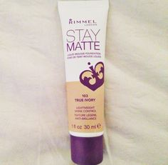 Best foundation ever: Rimmel London Liquid Mousse Foundation - lightweight & shine control