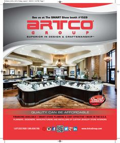 The Smart Jewelry Show is a almost here, visit us at Booth #1529 From April 18 - 20 #smartshow #smartjewelryshow