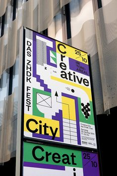 Creative City posters - VVK