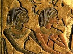The discovery and the excavation of the tomb of Aper-El, his wife and his son, at the Saqqâra archaeological site in Egypt. Aper-El was minister (vizir) to Amenophis III and Akhenaton. African Origins, African History, African Art, Ancient Egyptian Clothing, Ancient Egyptian Art, Art Afro, Kemet Egypt, Egypt Art, Black History Facts