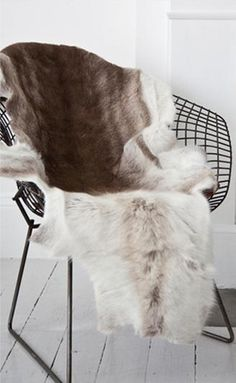 Chair + Fur