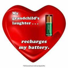 A grandchild's laughter ...