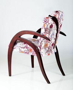 Parabola Chair by FIDM Interior Design School Student Get One, Chair Design, Interior Design, House, Furniture, Home Decor, Nest Design, Decoration Home, Home Interior Design