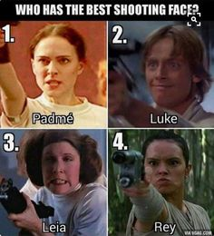 Of course it's leia