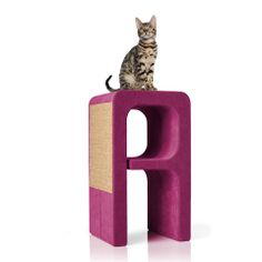 Letter A of the Alphabet collection. Scratchpad, resting area, hideaway. Fabric developed for cats - highly resistant to scratching.