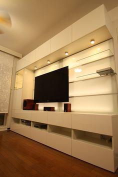 Besta/Framsta wall unit