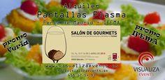 Alquiler Pantallas Plasma Feria Madrid IFEMA - Salón de Gourmets 2015