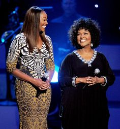 Yolanda Adams and CeCe Winans at the We Will Always Love You: A GRAMMY Salute To Whitney Houston - 2012