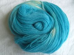 ♥ Sockenwolle 100g ♥ Schurwolle 75% ♥ Handgefärbt ♥ Made by Aleinung ♥ (091)