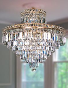 Beatrice Crystal Chandelier - Aves Lighting International