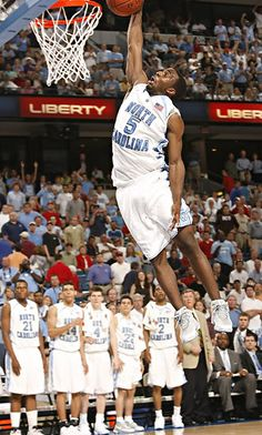 Ty Lawson during his UNC days