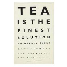Roderick Field Tea Tea Towel