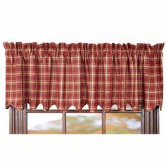 Kendrick Curtain Valance 72 x 16