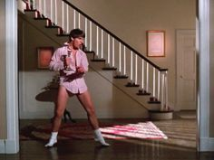 Tom Cruise, Risky Business, Old Time Rock & Roll #80's Risky Business Dance, Risky Business 1983, Risky Business Costume, Photomontage, Tom Cruise Dance, Movie Character Costumes, 80s Movie Costumes, Last Minute Halloween Costumes, Halloween Town
