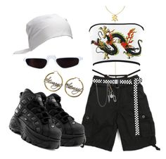 A fashion look from October 2017 featuring dragon shirt, puff skirt and initial jewelry. Browse and shop related looks. Cute Casual Outfits, Edgy Outfits, Retro Outfits, Grunge Outfits, Aesthetic Fashion, Aesthetic Clothes, Look Fashion, Womens Fashion, Fashion Mask
