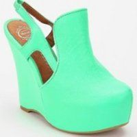 Different & kinda strange. I would wear them though. - Jeffrey Campbell Darian Wedge -