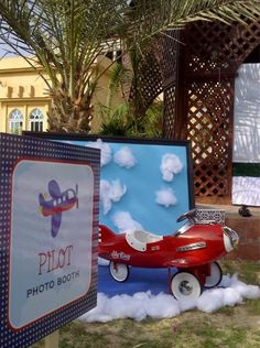 This miniature photobooth will have pilots-to-be queuing for their turn.