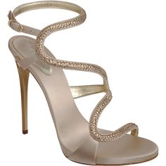 Giuseppe Zanotti Jewel-Embellished Sandal featuring polyvore women's fashion shoes sandals heels sapatos zapatos adjustable strap sandals ankle strap sandals heeled sandals strappy sandals strappy heeled sandals