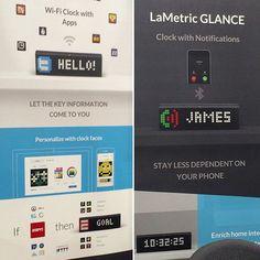 LaMetric GLANCE est la trouvaille de @thierryweber qui en est déjà fan. Un écran grand comme un réveille qui permet d'afficher diverses informations #CES2016 #eurekapark #lametric Ces 2016, Comme, App, Let It Be, Phone, Instagram Posts, Telephone, Phones, Apps
